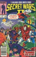 Secret Wars II (1985 Marvel) Canadian Price Variant 5