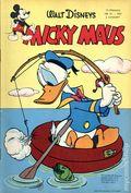Micky Maus (German Series 1951- Egmont Ehapa) 1957, #13