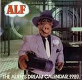 Alf The Alien's Dream Calendar 1989 (1988 One Stop Posters) #1989