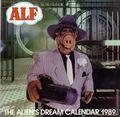 Alf The Alien's Dream Calendar 1989 (1988 One Stop Posters) #1989
