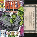 Incredible Hulk (1962-1999 1st Series) 376DF.SIGNED