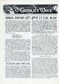 Gridley Wave (1959) Fanzine 5