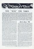 Gridley Wave (1959) Fanzine 27