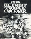 Detroit Triple Fan Fair (1965-1977) Convention Program 1974