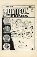 Multicon Comics Program Book (c. 1970) 1972