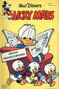 Micky Maus (German Series 1951- Egmont Ehapa) 1955, #2