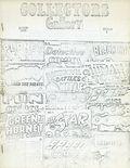 Collectors Gallery (1969) fanzine 1