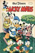 Micky Maus (German Series 1951- Egmont Ehapa) 1956, #12