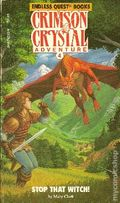 Endless Quest Book: Crimson Crystal Adventures PB (1985 TSR) 4-1ST