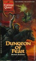 Endless Quest Book: Dungeon of Fear PB (1994 TSR 2nd Series) Dragon Strike 1-1ST