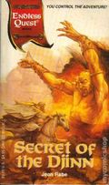 Endless Quest Book: Secret of the Djinn PB (1994 TSR 2nd Series) Al-Qadim 1-1ST