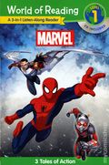 World of Reading: Marvel - A 3-in-1 Listen Along Reader SC (2016 Marvel Press) Level 1 Book and CD 1-1ST
