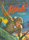 Attack! Fighting Men in Action (1964 Whitman) Coloring Book NN