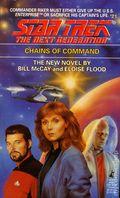 Star Trek The Next Generation Chains of Command PB (1992 Pocket Novel) 21-1ST