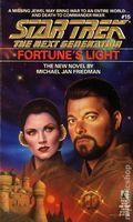 Star Trek The Next Generation Fortune's Light PB (1991 Pocket Novel) 1-1ST
