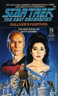 Star Trek The Next Generation Gulliver's Fugitives PB (1990 Pocket Novel) 11-1ST