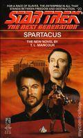 Star Trek The Next Generation Spartacus PB (1992 Pocket Novel) 20-1ST