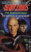 Star Trek The Next Generation The Romulan Prize PB (1993 Pocket Novel) 26-1ST