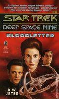 Star Trek Deep Space Nine Bloodletter PB (1993 Pocket Novel) 1-1ST