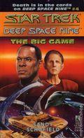 Star Trek Deep Space Nine The Big Game PB (1993 Pocket Novel) 1-1ST