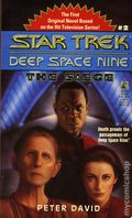 Star Trek Deep Space Nine The Siege PB (1993 Pocket Novel) 1-1ST