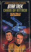 Star Trek Chain of Attack PB (1987 Pocket Novel) 32-REP