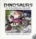 Dinosaur Coloring Book SC (2015 Insight Editions) By William Stout 1-1ST