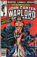 John Carter Warlord of Mars (1977 Marvel) Mark Jewelers 11MJ