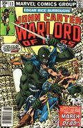 John Carter Warlord of Mars (1977 Marvel) Mark Jewelers 13MJ