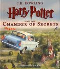 Harry Potter and the Chamber of Secrets HC (2016 A Scholastic Novel) Illustrated Edition 1-1ST