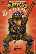 Teenage Mutant Ninja Turtles The Magic Crystal SC (1990 Random House) A Storybook Adventure 1-1ST