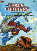 Transformers Coloring Book SC (1984 Marvel Books) 1-1ST