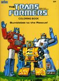 Transformers Coloring Book SC (1984 Marvel Books) 2-1ST