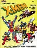 Uncanny X-Men Super Activity Book SC (1983 Marvel Book) 1-1ST