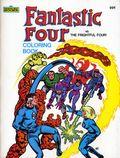 Fantastic Four Fantastic Four vs. the Frightful Four Coloring Book SC (1983 Marvel Books) 1-1ST