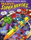 Marvel Super Heroes Super Activity Book SC (1983 Marvel Books) 1-1ST