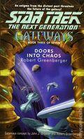 Star Trek The Next Generation Doors into Chaos PB (2001 Pocket Novel) Gateways: Book 3 1-1ST