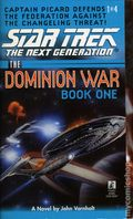 Star Trek The Next Generation Behind Enemy Lines PB (1998 Pocket Novel) The Dominion War: Book 1 1-1ST
