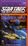 Star Trek The Next Generagtion Tunnel Through the Stars PB (1998 Pocket Novel) The Dominion War: Book 3 1-1ST