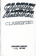 Captain America (1996 2nd Series) Ashcan 0