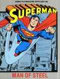 Comics File Magazine Spotlight on Superman Man of Steel SC (1986 Heroes Publishing) 1-1ST