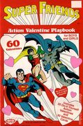 Super Friends Action Valentine Playbook (1980) 1