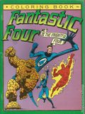 Fantastic Four Fantastic Four vs. the Frightful Four Coloring Book SC (1983 Marvel Books) 1-REP