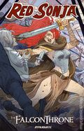 Red Sonja The Falcon Throne TPB (2016 Dynamite) 1-1ST