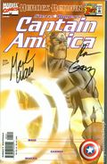Captain America (1998 3rd Series) 1BDFSIGNED