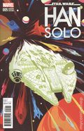Star Wars Han Solo (2016 Marvel) 5C