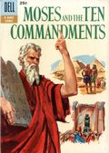Dell Giant Moses and the Ten Commandments (1957) 1B