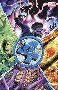 Fantastic Four (1998 3rd Series) 587AUDFSIGNED