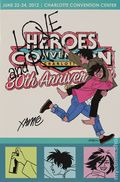 Heroes Convention Program Book Charlotte (1992) 2012