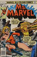 Ms. Marvel (1977 1st Series) UK Edition 17UK